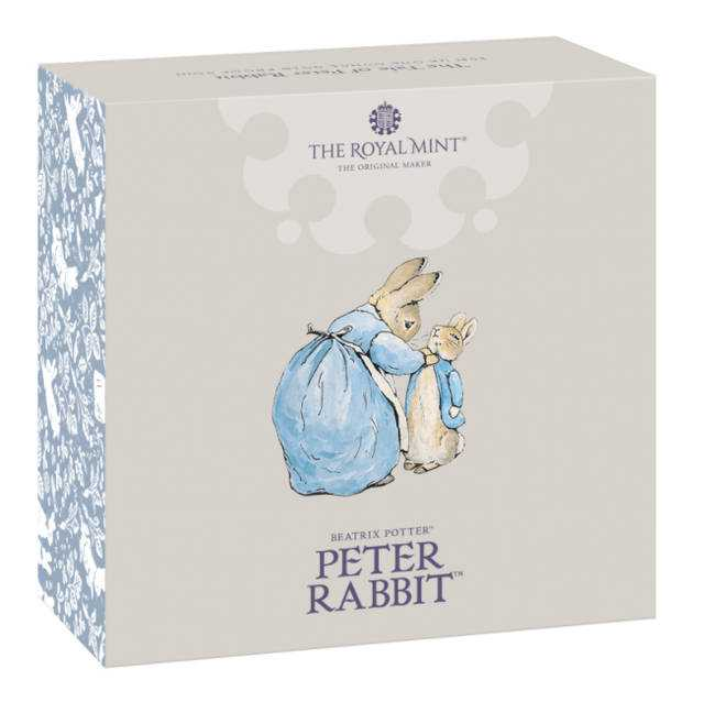 Peter Rabbit's first book was commercially published in 1902