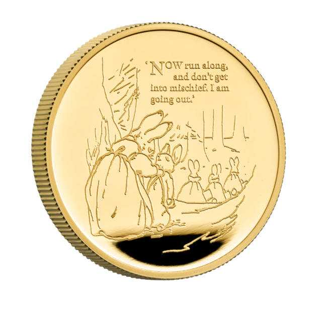 The gold coin will set you back £ 2315
